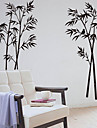 Bamboo Botanică decorative detașabil Wall Stickers