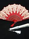 Különleges alkalom Rajongók és napernyők Esküvői dekoráció Ázsiai téma / Virágos téma Nyár