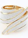 Pentru femei Argilă Brățări Bangle - Design Unic Vintage Casual Bijuterii Aripi / Pene Auriu Argintiu Curcubeu Brățări Pentru Nuntă