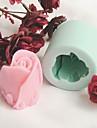 bakformen Blomma Paj Kaka Tårta Silikon Miljövänlig GDS (Gör det själv) alla hjärtans dag