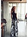 Femei Femei Pantaloni Picior Larg Bumbac / Altele Micro-elastic