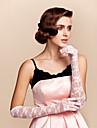 dantelă cot lungime mănuși mănuși de mireasă clasic feminin stil