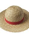Pălărie/Șapcă Inspirat de One Piece Monkey D. Luffy Anime Accesorii Cosplay Pălărie Funie de paie Bărbătesc