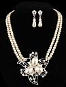Pentru femei Perle Set bijuterii Σκουλαρίκια / Coliere - Seturi de bijuterii Pentru Petrecere / Zilnic / Casual