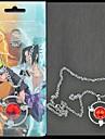 Bijuterii Inspirat de Naruto Sasuke Uchiha Anime Accesorii Cosplay Colier Bărbătesc