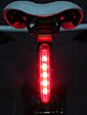 ضوء الدراجة الخلفي / أضواء السلامة / أضواء الذيل LED اضواء الدراجة ركوب الدراجة ضوء LED AAA البطارية أخضر - MOON / IPX-4