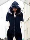 Inspirat de Kagerou Project Kano Shuuya Video Joc Costume Cosplay Costume Cosplay Solid Negru Mânecă Lungă Geacă / Lenjerie de Corp