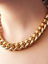 Coliere Lănțișoare Bijuterii Petrecere Zilnic La modă Aliaj Dame 1 buc Cadou Auriu Negru Argint