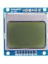 """1.6 """"Nokia 5110 LCD-modul med blå bakgrundsbelysning för (för Arduino)"""