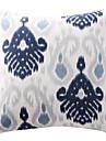 1 st Bomull Kudde med Fyllning Örngott, Geometrisk Traditionell/Klassisk
