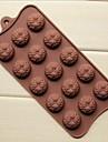 15 de sonde de matrite de ciocolata forma de floarea-soarelui tort de gheață jeleu, silicon 22 × 10,5 × 1,5 cm (8,7 × 4,1 × 0,6 inch)