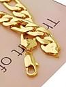 Bărbați Lănțișoare Placat Auriu Aliaj costum de bijuterii Bijuterii Pentru Zilnic Sport Cadouri de Crăciun