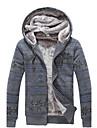 îngroșarea bărbați senleisi e cald îngroșa haină cu glugă de lână