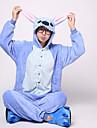 Pijama Kigurumi Monster Blue Monster Pijama Întreagă Costume Flanel Lână Albastru Cosplay Pentru Adulți Sleepwear Pentru Animale Desen