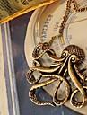 caracatiță femei colier retro lung