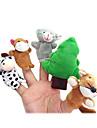 Păpușă Deget Jucarii Desen animat Hobby Băieți / Fete Textil