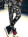 femei umflat hip-hop sudoare pantaloni pantaloni elastici