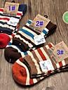 Men's Cotton Socks Fashionable Stripe Men's Socks
