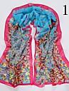 pentru femei de moda floare fluture eșarfă