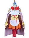 Inspirado por No Game No Life Fantasias Anime Fantasias de Cosplay Ternos de Cosplay Retalhos Sem Manga Vestido / Peca para Cabeca / Bracelete Para Mulheres