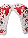 Boxningshandskar Mitsar Grapplinghandskar för MMA Träningshandskar till boxning för Martial art Fingerlösa Andningsfunktion Slitsäker