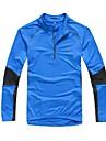 KORAMAN Maillot de Cyclisme Homme Manches Longues Velo Maillot Hauts/Top Sechage rapide Design Anatomique Bandes Reflechissantes Poche