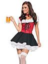 Oktoberfest Etnic/Religios Costume Cosplay Costume petrecere Feminin Halloween Carnaval An Nou Festival/Sărbătoare Costume de Halloween