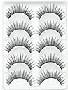 Silmäripsi Tekoripset 10 pcs Suurennettu Kihara Kuitu Päivittäin Luonnollisen pitkät - Meikki Arkipäivän meikki kosmeettinen Hoitotarvikkeet