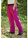 Femme Pantalons de Randonnee Exterieur Etanche Garder au chaud Pare-vent Isole Pantalon / Surpantalon pour Ski Sports de neige Snowboard