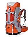 70L Ryggsäckar / Ryggsäck - Vattentät, Regnsäker, Bärbar Camping, Skidåkning, Klättring Nylon Orange, Röd, Blå