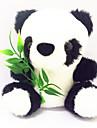 1PCS Cute Panda stil de plus Doll Toy (10x7x5.5cm)