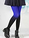 le punk bleu fille&velours noir isolé bas de lolita gothique