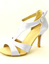 Satin T-Strap latine / danse de salon Chaussures personnalisées femmes (plus de couleurs)