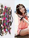 1st härliga fashion strand blomma huvudet ornament