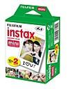 20 FUJIFILM instax mini pack-film Twin alb instantanee