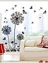 Διακοσμητικά αυτοκόλλητα τοίχου - Αεροπλάνα Αυτοκόλλητα Τοίχου Βοτανικό Σαλόνι / Υπνοδωμάτιο / Δωμάτειο Μελέτης / Γραφείο / Αφαιρούμενο
