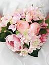 """Flori de Nuntă Rotund Bujori Buchete Nuntă Mătase 9.45""""(Approx.24cm)"""