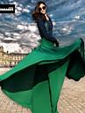 verragee nou iarnă mare fuste batante chiffon Fusta lungime fusta umbrelă de plajă fusta plisata de mari dimensiuni femei