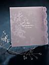 Pliat Invitatii de nunta Invitații Stil Vintage / Stil Floral Hârtie perlă 12*14.5 cm