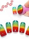 1 Outils DIY Classique Nail Art Design Brosses a ongles Quotidien Classique Noir Haute qualite