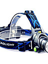 TD286 Headlamps Headlight LED Cree® T6 1 Emitters 800 lm with Batteries and Charger Zoomable Waterproof Adjustable Focus Camping / Hiking / Caving Cycling / Bike Traveling