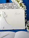 elegant beautifulelegant nunta carte de oaspeți semn în ceremonia de nunta carte