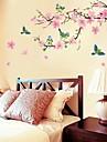 Botanic Romantic Natură moartă Modă Florale Fantezie Perete Postituri Autocolante perete planeAutocolante de Perete Decorative