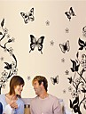 Landskap Stilleben Romantik Mode Blommig fantasi Botanisk Väggklistermärken Animal Wall Stickers Dekrativa Väggstickers, Vinyl