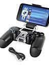 smart telefon fäste förvaringsbehållaren + laddkabel för PS4 controller gamepad