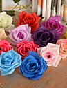 1 Gren Silke Plast Roser Bordsblomma Konstgjorda blommor