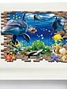 Animale #D Perete Postituri 3D Acțibilduri de Perete Autocolante de Perete Decorative, Vinil Pagina de decorare de perete Decal Perete