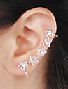 Cătușe pentru urechi bijuterii de lux Pietrele Lunilor Ștras imitație de diamant Aliaj Star Shape Bijuterii PentruNuntă Petrecere Zilnic