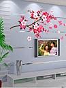Botanic Romantic Natură moartă Modă Perete Postituri Autocolante perete plane Autocolante de Perete Decorative,Vinil Pagina de decorare