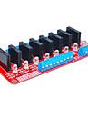 opt pentru Arduino releu în stare solidă (roșu)